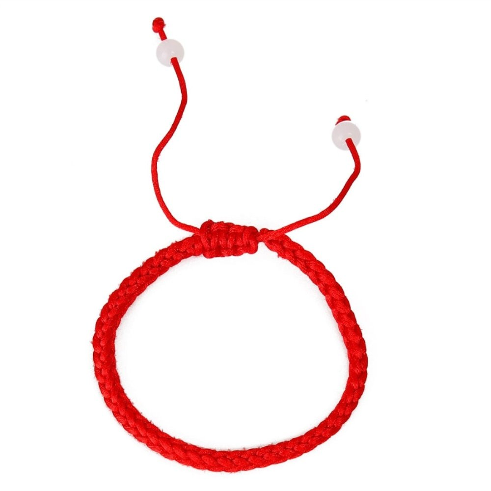Kabbalah armband witte kraal