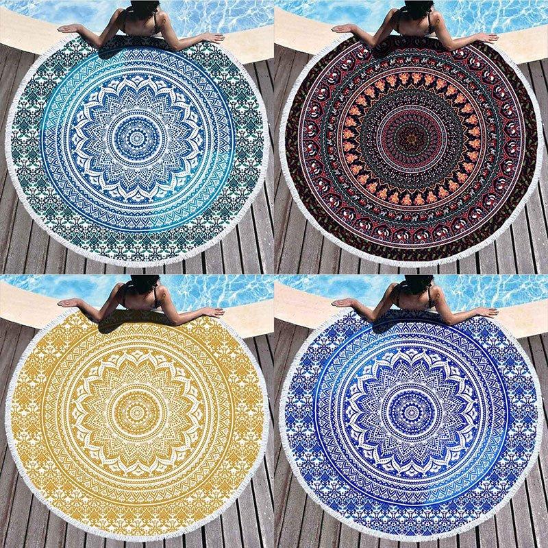 Mandala strandlaken overzicht diverse kleuren