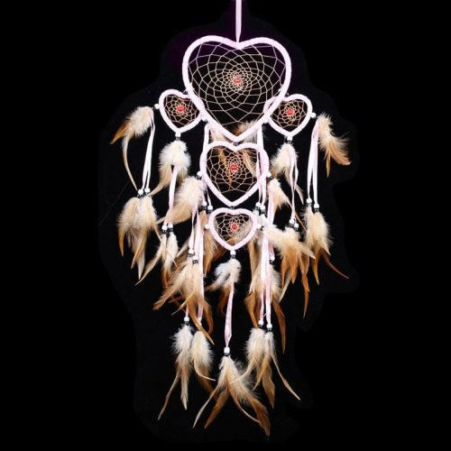 Indianen dreamcatcher hartjes